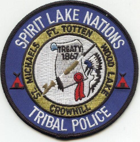 Spirit Lake Nations Tribal Police North Dakota