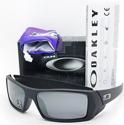 NEW Oakley Infinite Hero Gascan Matte Black Blue 9014-27 AUTHENTIC Gas (Petrol Rectangular Sunglasses)
