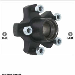 2 Dexter  4.5 in 5 bolt idler hub