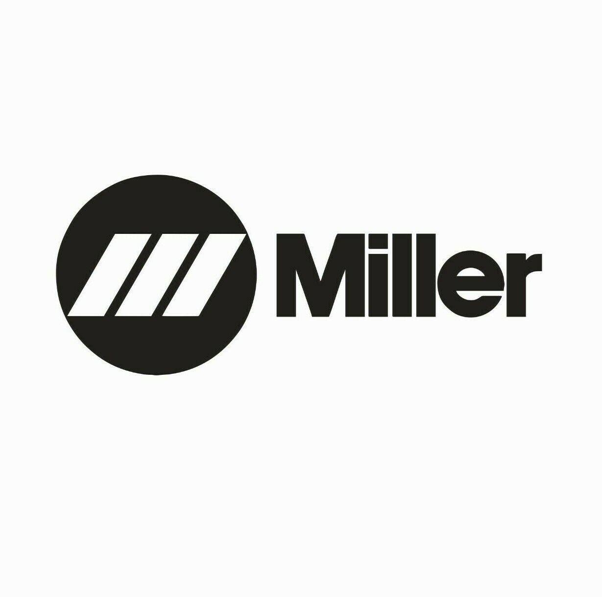 Miller Welder Welding Vinyl Die Cut Car Decal Sticker-FREE S