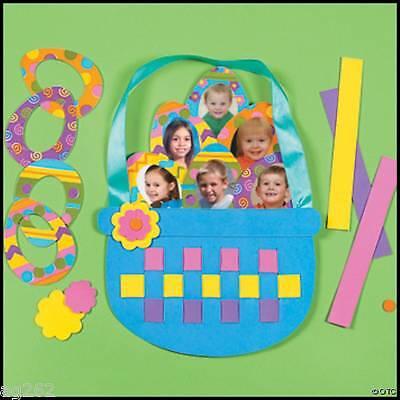 Easter Basket Family Photo Craft Kit 6 Photos! ABCraft