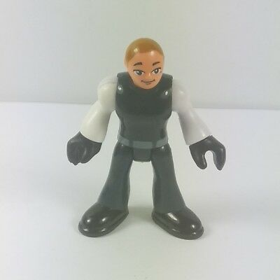 Fisher-Price Imaginext DC Super friends Policeman Police From Bane Set