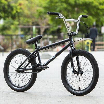 """2020 SUNDAY BIKE BMX BLUEPRINT 20"""" BICYCLE BLACK w/ CHROME BARS 20.5"""" Toptube"""