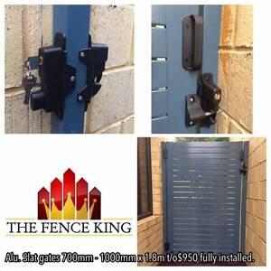 GATES COLORBOND & ALUMINIUM SLAT FROM $545