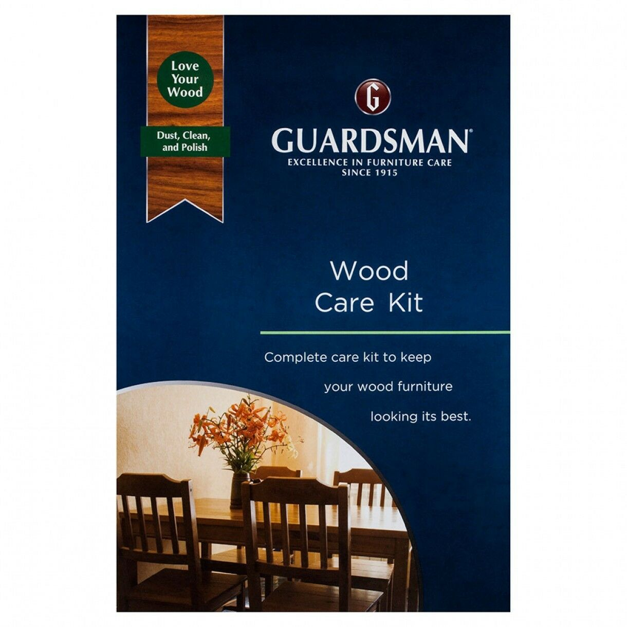 Wood Care Kit Guardsman Complete Wooden Furniture Care Clean Polish Dust Ebay