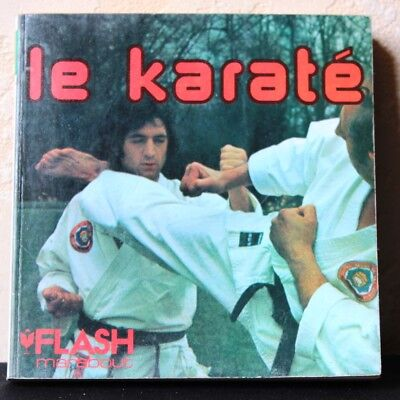 Le Karate vintage French pocket manual guide book 1979 fight combat Martial arts