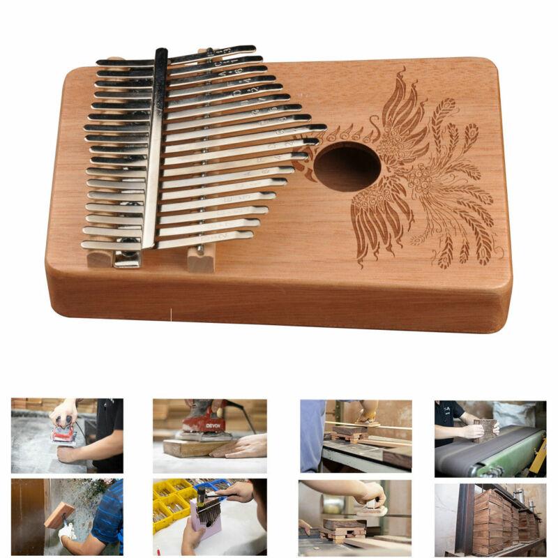 17 Key Kalimba Thumb Piano Finger Hand Piano Mahogany Keyboard Music Instrument