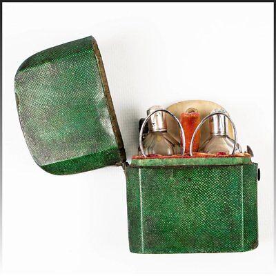 Разное Antique 1700s French Shagreen Etui,