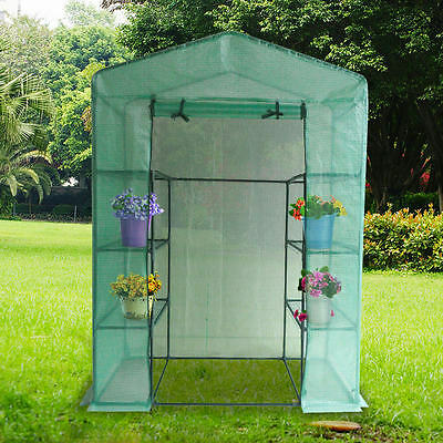 Quictent 6 Shelves Portable Mini Greenhouse Green ...