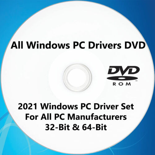 Windows Drivers For All PC 2021 Drivers Pack For All PCs DVD