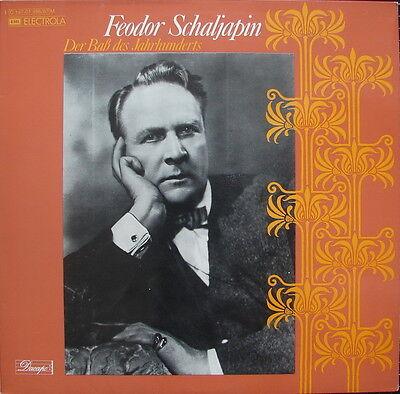 """Feodor SCHALJAPIN """"Der Bass des Jahrhunderts"""" - Doppel-LP - FOC - NM-"""