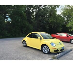 Used car, for sale. The 2010 beetle. 56000km.