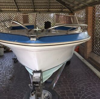 1987 Cruise Craft 570 Bowrider (Original)