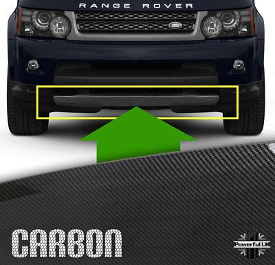 Front Bumper Tow Eye Cover lip spoiler Carbon Sport insert trim splitter lower