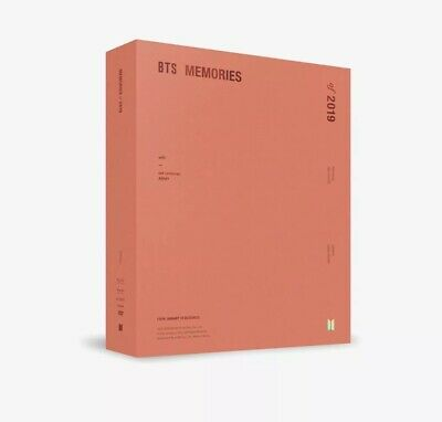 NEW! OFFICIAL BTS MEMORIES OF 2019 DVD - Opened, NO PHOTOCARD - US SELLER