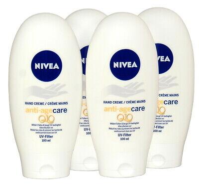 4x Nivea Q10 Handcreme anti-age care, gegen Altersflecken 100 ml (100ml=18,90) gebraucht kaufen  Pyrbaum
