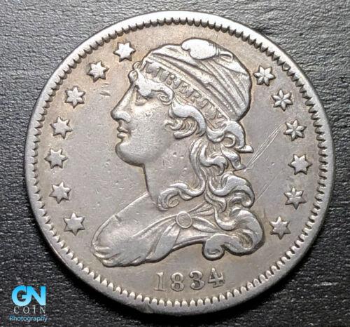 1834 Capped Bust Quarter --  MAKE US AN OFFER!  #B3268