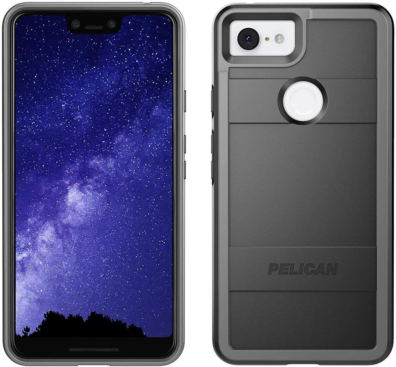 Pelican Protector Google Pixel 3 XL Case Black/Light Grey - $17.99