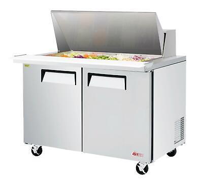 Turbo Air Est-48-18-n-v E-line 48 Mega Top Refrigerated Sandwich Prep Unit