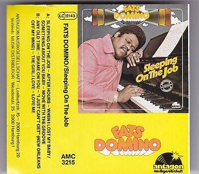 FATS DOMINO - SLEEPING ON THE JOB MC ANTAGON AUDIO KASSETTE TAPE CASSETTE