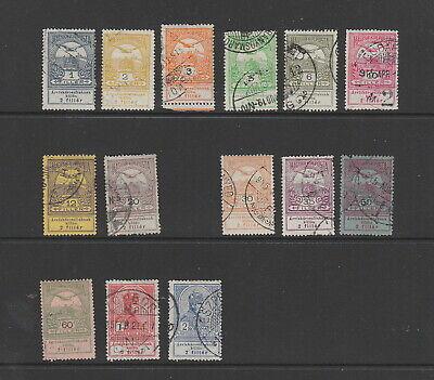 Hungary 1913 Flood Relief values fine used