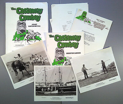 Press Kit~ Disney's THE CASTAWAY COWBOY ~James Garner ~Vera Miles ~Robert Culp