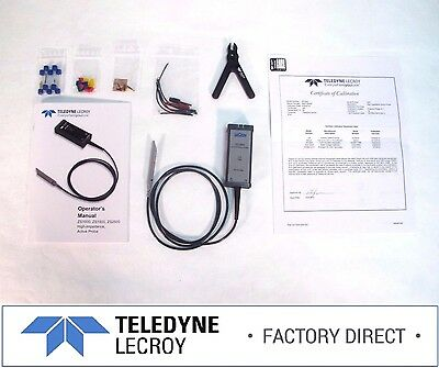 Teledyne Lecroy Zs1500 1.5ghz .9pf 1mohm Active Voltage Probe Factory Warranty