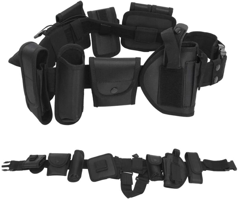 Tactical Belt Modular Belt Military Utility Belt with Pouches Holster Gear Strap