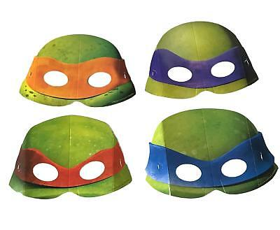 Teenage Mutant Ninja Turtles TMNT Finished Paper Face Mask Party Favor Costume