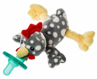 Mary Meyer WubbaNub Infant Newborn Baby Soothie Pacifier ~ Rocky Chicken