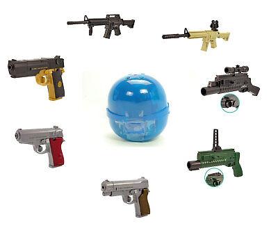 Tomy Takara Gashapon Mini Shooting Plastic Pellet Toy Gun Rifle Pistol 1 Figure - Toy Rifles