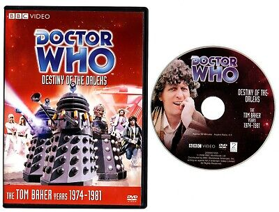 DOCTOR WHO: DESTINY OF THE DALEKS (DVD, 2008) Story #104 Tom Baker, Lalla Ward