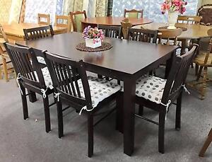 DELIVERY TODAY BEAUTIFUL MODERN 7pcs dining table & chairs Belmont Belmont Area Preview