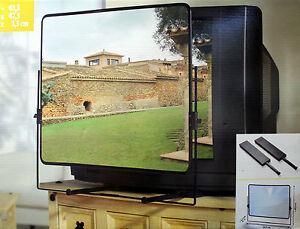 TV Lupe Sehhilfe Fernsehlupe Lesegerät bis max. 65cm Bildschirm