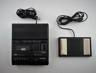 Panasonic Rr-830 Cassette Tape Dictation Transcriber W Pedal Rp-2692 - B