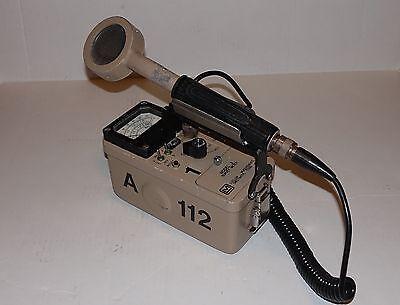 Ludlum Measurements Inc. Geiger Meter Model 3 44-9 Pancake Radiation Detector