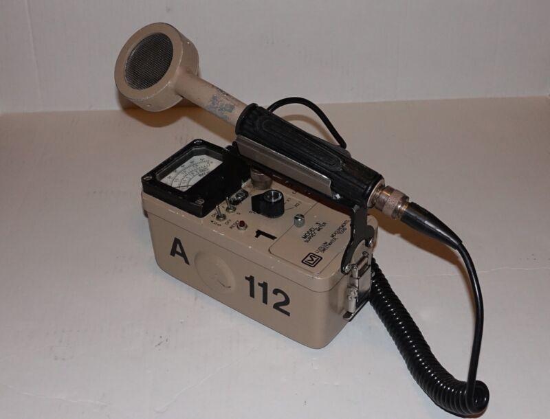 Ludlum Measurements Inc. Geiger Meter, Model 3 & 44-9 Pancake Radiation Detector