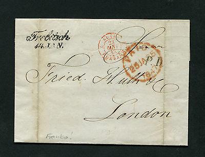"""Österreich Vorphila - """"Trebitsch"""" L2 auf Brief von 1847   (#1598)"""