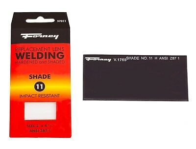 Forney 57011 Replacement Welding Safety Lens Eye Uv-ab Protector Shade 11
