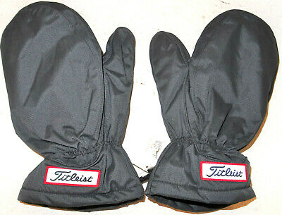 TITLEIST THERMAL WINTER GOLF CART MITTS ONE SIZE BRAND NEW