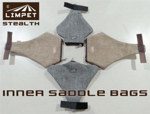 Limpet Saddle Bag for Brooks & Selle Anatomica stealth hidden bike bicycle under