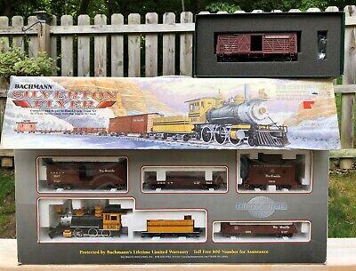 Bachmann Silverton Flyer Train Set plus Colorado & Southern Car - Never Used