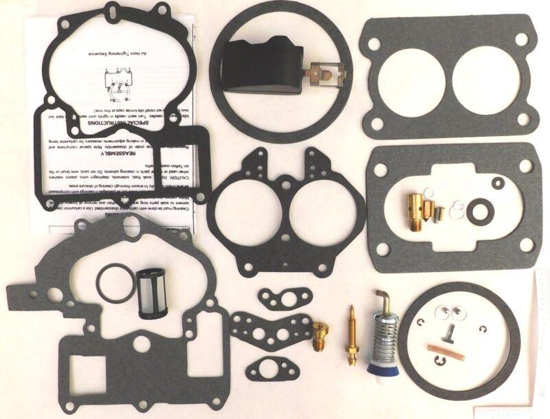Mercruiser Marine 2 Barrel Carburetor Repair Kit Mer Carb 3302-804844002