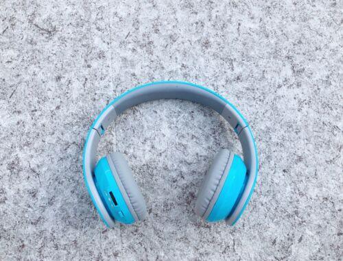 Brand New Beyution Wireless Bluetooth Headphones Sky Blue BT
