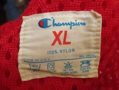 80s Tops, Shirts, T-shirts, Blouse   90s T-shirts Vintage 80s Champion Red Mesh Athletic Jersey Shirt 1980s Football USA Men XL $116.55 AT vintagedancer.com
