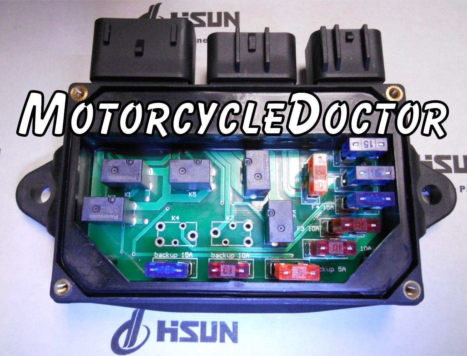 central relay junction fuse box msu500 utv 700 msu 400 500 hisun you re almost done