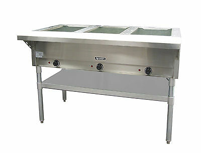 Adcraft St-120-3 3 Bay Steam Table