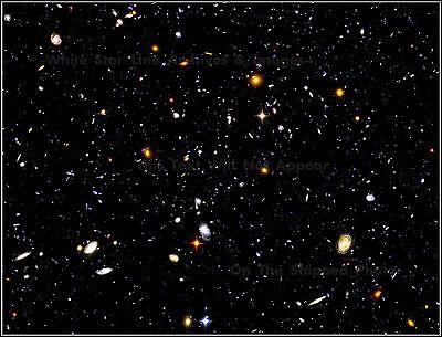 Photo  Hubble Ultra Deep Field  Farthest Known View   14 5 Billion Light Years