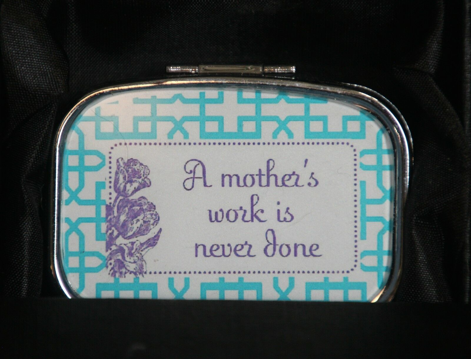 MOTHER'S DAY Pill Box Two's Company Set of 2