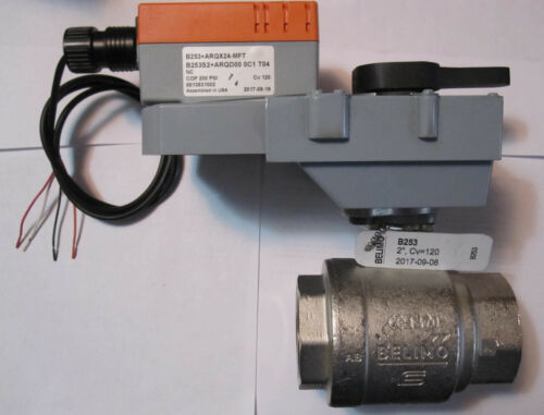 BELIMO      B253+ARQX24-MFT   ACTUATOR with 2 inch STAINLESS BALL VALVE